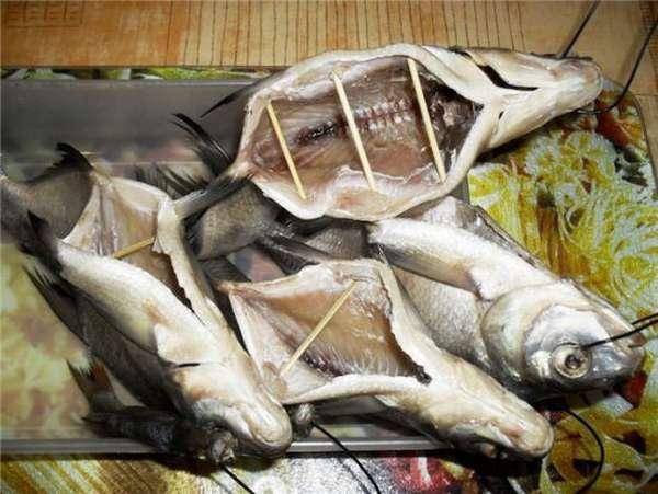 рыба на просушке