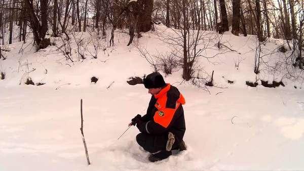 Ловля голавля зимой на мормышку