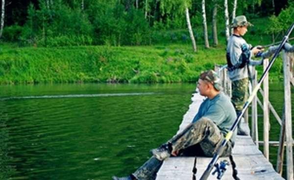 Летняя рыбалки в Орловской области