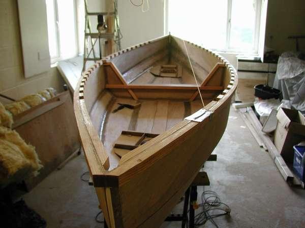 Изготовить лодку из фанеры