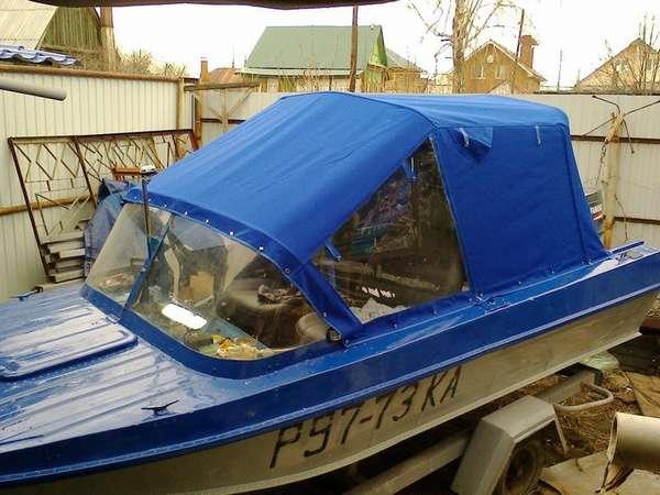 Мощность лодки казанки