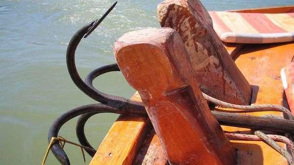 Один из типов якоря для лодок