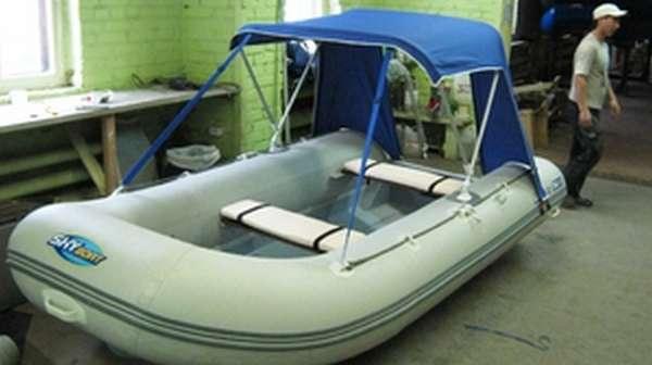Как выбрать тент на лодку